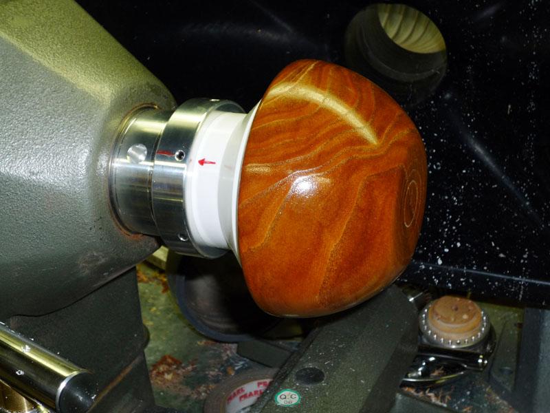 wood lathe vacuum chuck